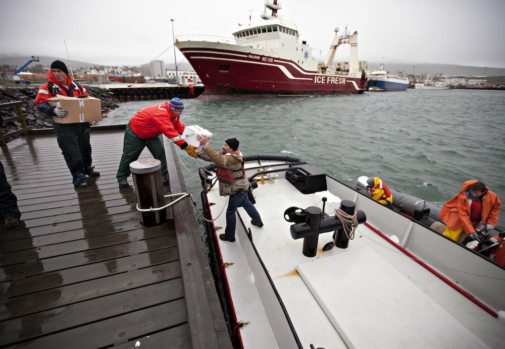 tjener millioner på fiskebåt